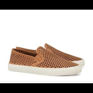TORY BURCH | perforated Jesse sneakers tan 10.5